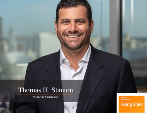 Stanton IP Law Firm Managing Shareholder Thomas H. Stanton Named 2021 Super Lawyers Rising Star